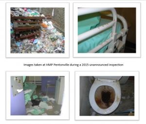 HMP pentonville inspection images