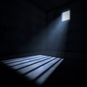 Light in a dark prison cell