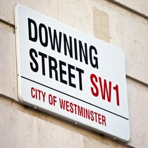 Downing Street in London