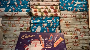 Selection boxes donated by Prison Phone for the Children of prisoners