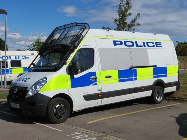 Thames valler police van